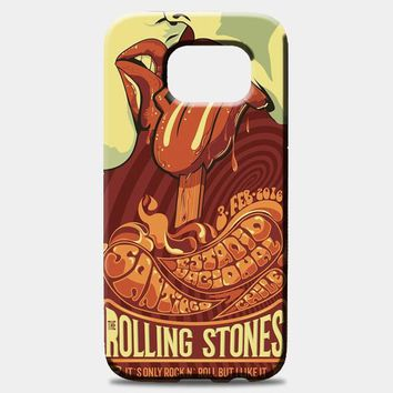 Rolling Stone Poster Art Samsung Galaxy S8 Plus Case | casescraft