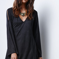 MinkPink Truth Potion Faux Suede Dress at PacSun.com
