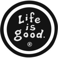 Black Life is good Magnet| Positive Car Magnets | Life is good