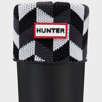 Geometric Dazzle Boot Socks | Official Hunter Boots Site