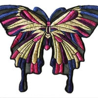XXL Extra Large 23cm Summer Butterfly Patch Badge Applique