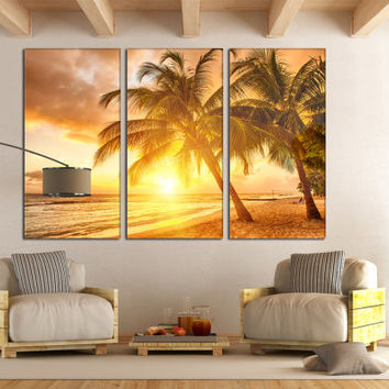 Modern Art Kitchen Decor 3 Panel Art Unique Wall Art Home Decor Nature Sea Art Print Sea Photography Kitchen Wall Decor Seascape Beach House