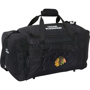 Chicago Blackhawks - Logo Roadblock Duffle Bag