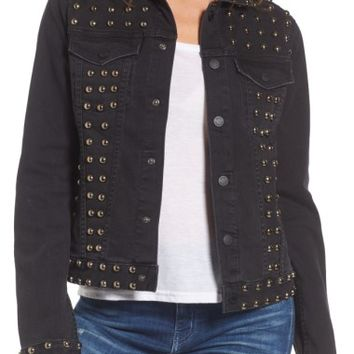 Juicy Couture Studded Denim Jacket | Nordstrom