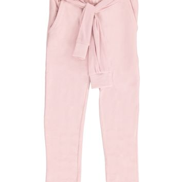 Pink Smoke Girl's Pants