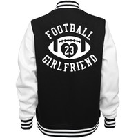 Football Girlfriend Coat: Mom Means Business