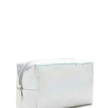 Iridescent Glitter Makeup Bag