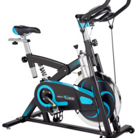 Fitness Exercise Bike, 40lb Flywheel, Resistance Bands