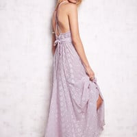 Autumn Backless Embroidery Prom Dress One Piece Dress [4918392580]
