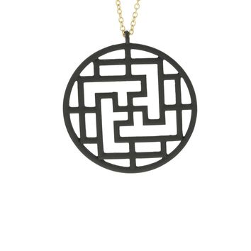 Reed Modern Filigree Pendant Necklace
