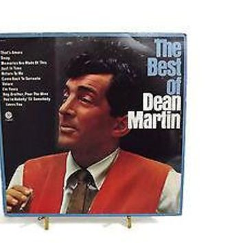 "Dean Martin The Best Of Dean Martin Vinyl LP 12""  Album Capitol  #SM  2601"