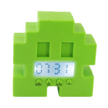 Heal's | Bluw Space Invader Alarm Clock > Mens Gift > Gadgets and Boys Toys > Gifts