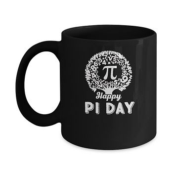 Happy Pi Day Math Major Teacher Mug