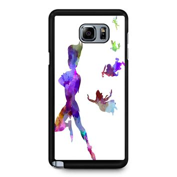 Peter Pan In Watercolor Samsung Galaxy Note 5 Case