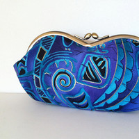Tribal Signs,  a sunglass, eyeglass case, smartphone case,  or fun small clutch, sunglasses case