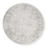 Safavieh Adirondack Vintage Distressed Ivory / Silver Rug - 4' Round | Overstock.com Shopping - The Best Deals on Round/Oval/Square