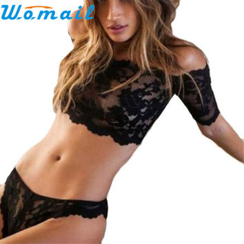 Roupa Intima 1Set Sexy Lingerie Lace Dress Women Underwear Nightwear Sleepwear G-strin D20