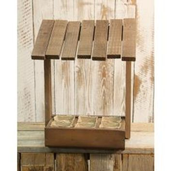 Wooden Seed Hut - *FREE SHIPPING*
