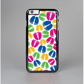 The Colorful Vector Footprints Skin-Sert for the Apple iPhone 6 Skin-Sert Case