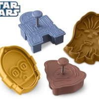 Star Warsâ?¢ Droids & Aliens Cookie Cutters, Set of 4 | Williams-Sonoma