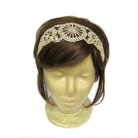 Great Gatsby Headband Roaring Twenties Gatsby Headpiece 1920s Headband Vintage Wedding Headband Bridal Hair Accessories