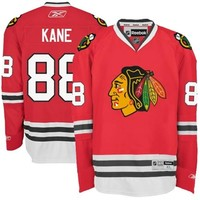 Men's Chicago Blackhawks Patrick Kane Reebok Red Home Premier Jersey