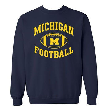 Michigan Football Crew - Navy