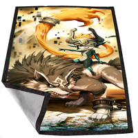 The Legend Of Zelda Twilight princess for Kids Blanket, Fleece Blanket Cute and Awesome Blanket for your bedding, Blanket fleece *02*