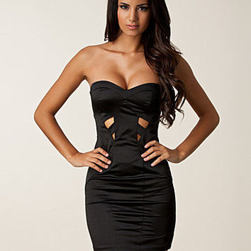 Sweetheart Cut Out Bodycon Dress, Elise Ryan