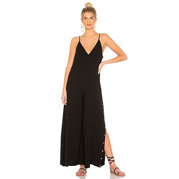 One Teaspoon Rosaline Studded Jumpsuit Black