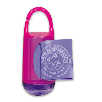 Munchkin Arm & Hammer Diaper Bag Dispenser - Pink