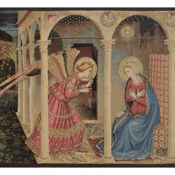 Annuniciation Tapestry Wall Art Hanging