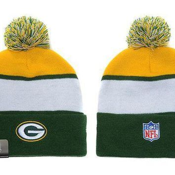 ESB8KY Green Bay Packers Beanies New Era NFL Football Hat