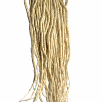 Blonde Synthetic Dreadlock Extensions (10 dreads)