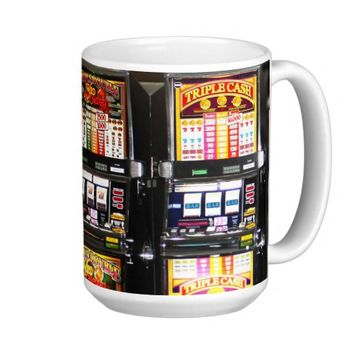 Dream Machines - Lucky Slot Machines Ringer Mug