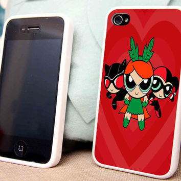 Supervillain Girls for iPhone 5 5C 5S iPhone 4/4S Samsung Galaxy S3 S4 case