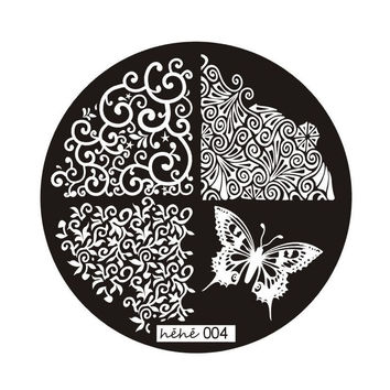 2016 Nail Products Flower Pattern 60 Design Nail Print Plate Hehe Series Nail Art Image Print Stamp Stamping Manicure Template