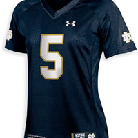F1428C Under Armour Replica Football Jersey | University Of Notre Dame