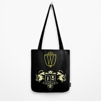 Wayne Enterprises Tote Bag by Sierra Christy Art