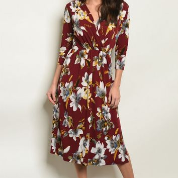 Katherine Floral Dress