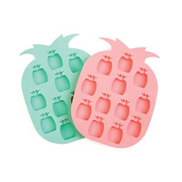 Pineapple On The Rocks Ice Tray - Set of 2
