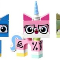 LEGO Movie Unikitty Collection (Set of 5) - Unikitty, Biznis, Queasy, Astro and Angry Kitty Set