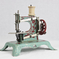 Rare Ernst Plank Toy Sewing Machine, Miniature Sewing Machine