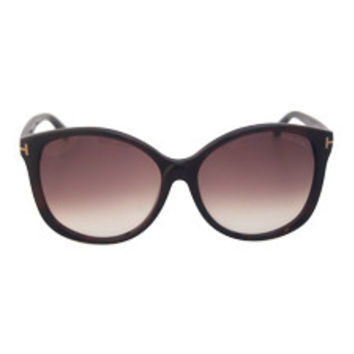 tom ford ft0275 alicia 52f - dark havana by tom ford