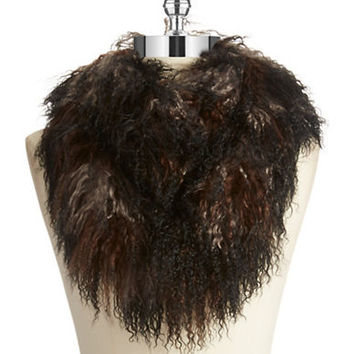 Linda Richards Ombre Lamb Fur Scarf