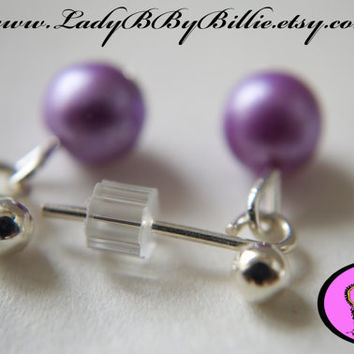 Ariel Drops Handmade Lady B By Billie Stud Earrings