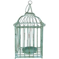Blue Bird Cage Candle Holder | Shop Hobby Lobby