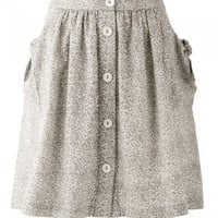 A Line Pocket Skirt - People Tree