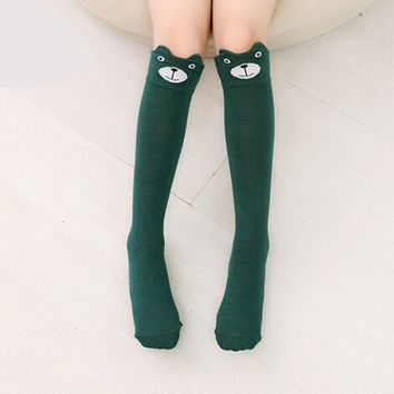 Animal Pattern Knee High Socks