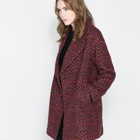 OVERSIZE DOUBLE BREASTED COAT - Woman - NEW THIS WEEK | ZARA United Kingdom